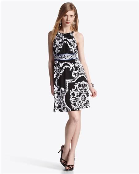 Baroque Print Dress from White House/Black Market