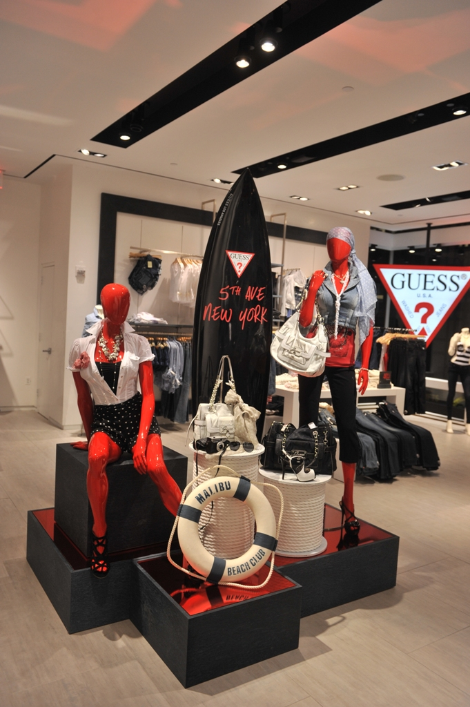 224486cc7 Guess Opens on 5th Avenue