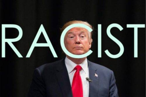 Image result for racist trump